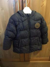 Next Boys Navy Padded Coat 1.5 - 2 years
