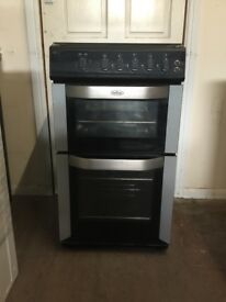 Belling gas cooker FSG50DO 50CM stainless steel FSD double oven 3 months warranty free local deliver