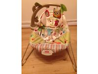 Fisher Price Baby Bouncer Woodsy Friends