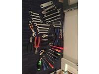 Selection job lot of tools