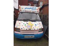 Ice Cream Van for Sale, Ford Transit 100, Maria Soft Ice Machine, 1yr MOT, Power Steering,