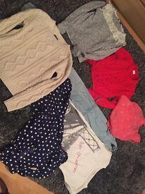 Girls clothes bundle Age 11-12 next etc