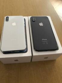 iPhone X 64gb and 256gb Unlocked