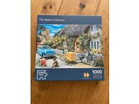 1000 piece jigsaw puzzles: 6 available