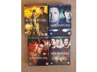 Supernatural Seasons 1, 2, 3 and 4 DVD Boxsets