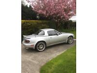 Summer is coming need the roof down on this lovely silver MX5