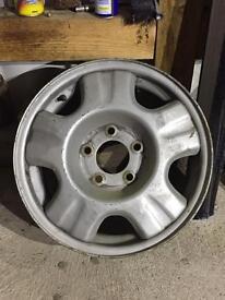 Mazda Bongo steel wheel