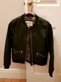 Girls river island jacket age 10
