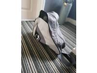 Mens/boys roller skates and bag size 7