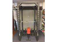 Home Made Power Rack- Multi purpose with weights and bench