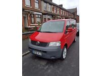 Vw caravelle 9 seater LHD