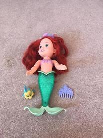 Singing Ariel bath toy