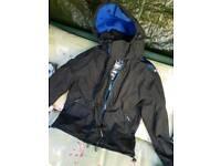 Superdry 3 zip coat