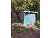 Garage for Sale, Redland, Bristol. Prefab concrete.