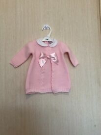 Dizzy Daisy Knitted girls dress baby clothes