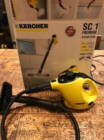 Karcher SC1 steam cleaner with kitchen attachments