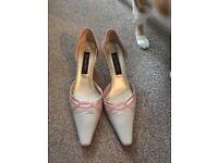 Jacques Vert wedding shoes (size 5)