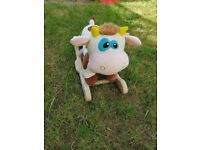 Toddlers baby Cow Rocking Toy