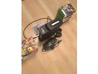 250GB Xbox 360 Elite featuring 28 GAMES(opt) w/ all appliances including HDMI + controller-all: £90
