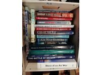Bundle of fifteen (15) books on the Air War in WW2