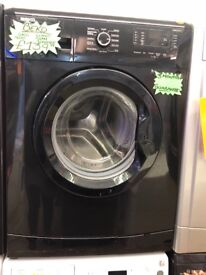 BEKO 6KG DIGITAL SCREEN WASHING MACHINE IN BLACK