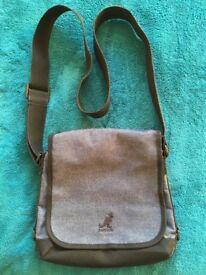 Kangol Navy Cotton Handbag