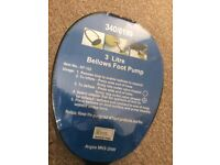 Foot Bellows 3 Litre Capacity NEW SEALED!!