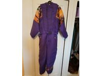 70s RETRO SKI SUIT FOR SALE £40