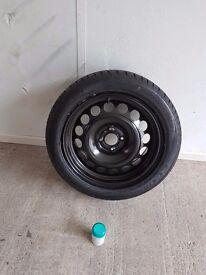 Peugeot 3008 spare wheel
