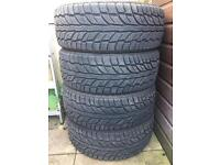 4 x 215/55R18 Cooper Weather-Master Winter Tyres