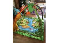 Fisher Price Tropical Jungle Play Mat