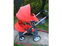 Stokke Cruis double/single pram