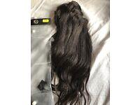 Hair extensions, real hair