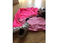 cycle helmet -(womens) Job lot of ladies cycling clothing