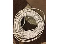 Dual coxial cable 20m + coxial cable black 10m