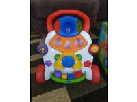 Chicco baby step activity walker