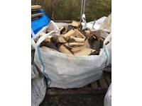 Bulk bag of mixed logs