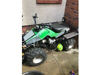 Off road 110cc quad bike