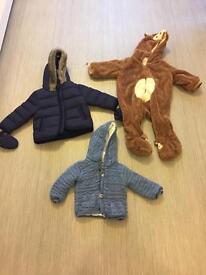 6-9 month coat bundle