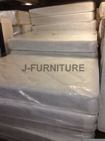 OUTLET! Small Double 4ft Or Standard Double 4ft6 Real Ortho Or Deep Quilt Mattresses!!