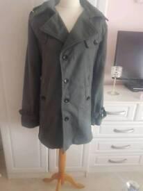 Men's grey coat