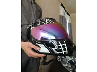 Motorbike helmet for sale tinted visor