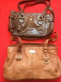 Various handbags