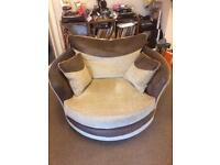 Comfortable Cuddler Swivel Chair (offers considered)