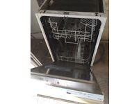 400mm zanussi dishwasher