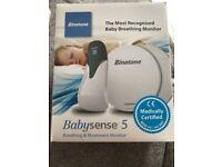 Babysense breathing and movement monitor