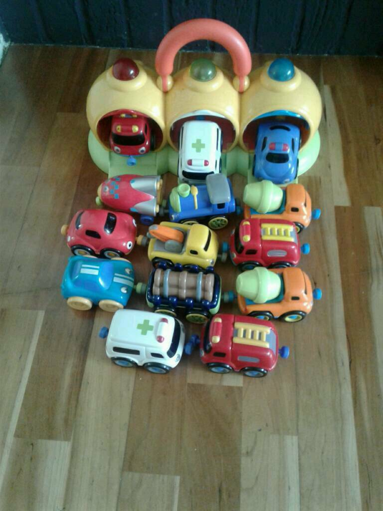 ELC emergency set plus more vehicles