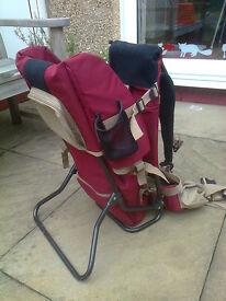 Child carrier / backpack