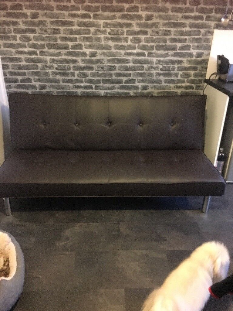 Faux Leather Double Sofa Bed Faux Leather Sofa Bed Small