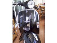 Immaculate LML 125 with stunning Metallic Black paint